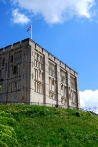 Norwich Castle, the Norman keep