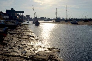 Wells harbour, evening light