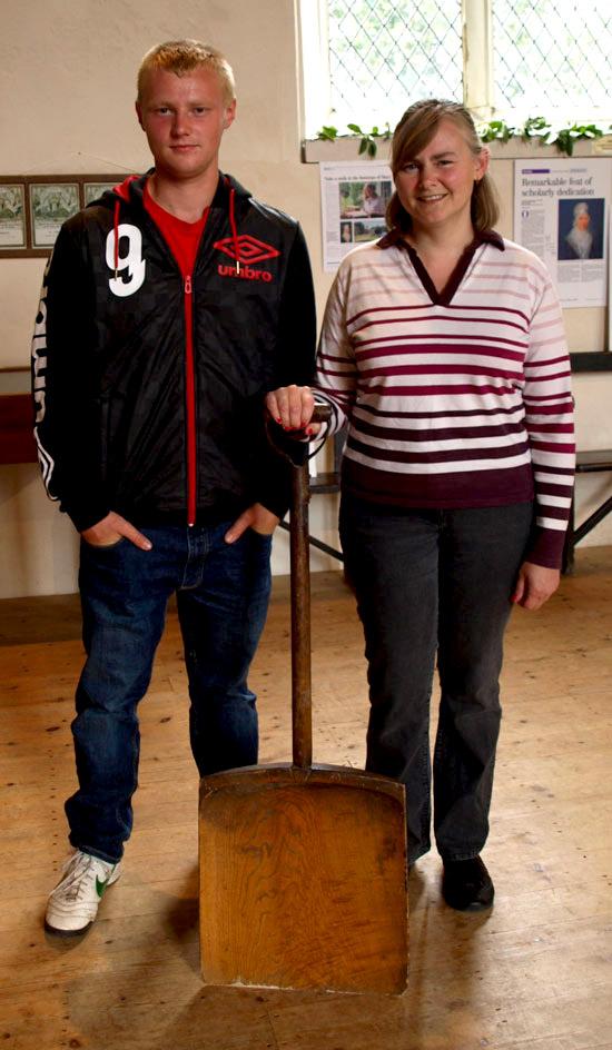 Arnie and Teri Warsop: workforce descendants
