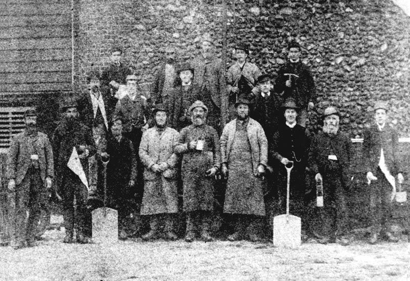 Letheringsett brewery workforce 1896