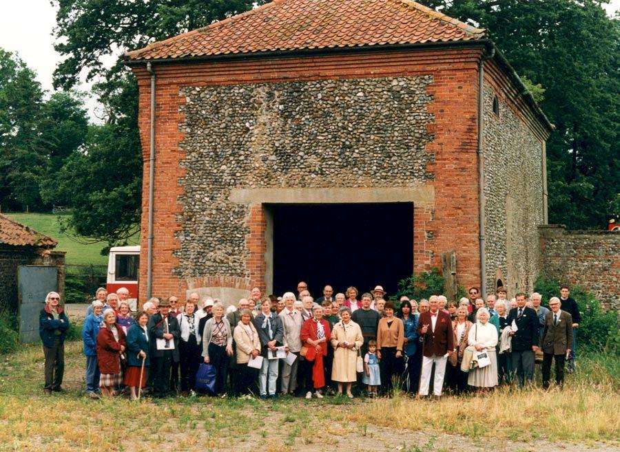 Letheringsett tun room, field trip 1996