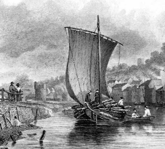 A keel at Norwich, by J. Stark