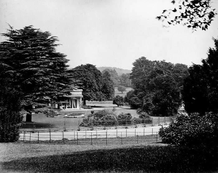 Letheringsett Hall, by A.E. Coe 1880