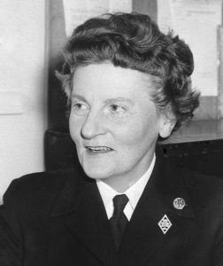 Beryl Cozens Hardy in uniform 1961