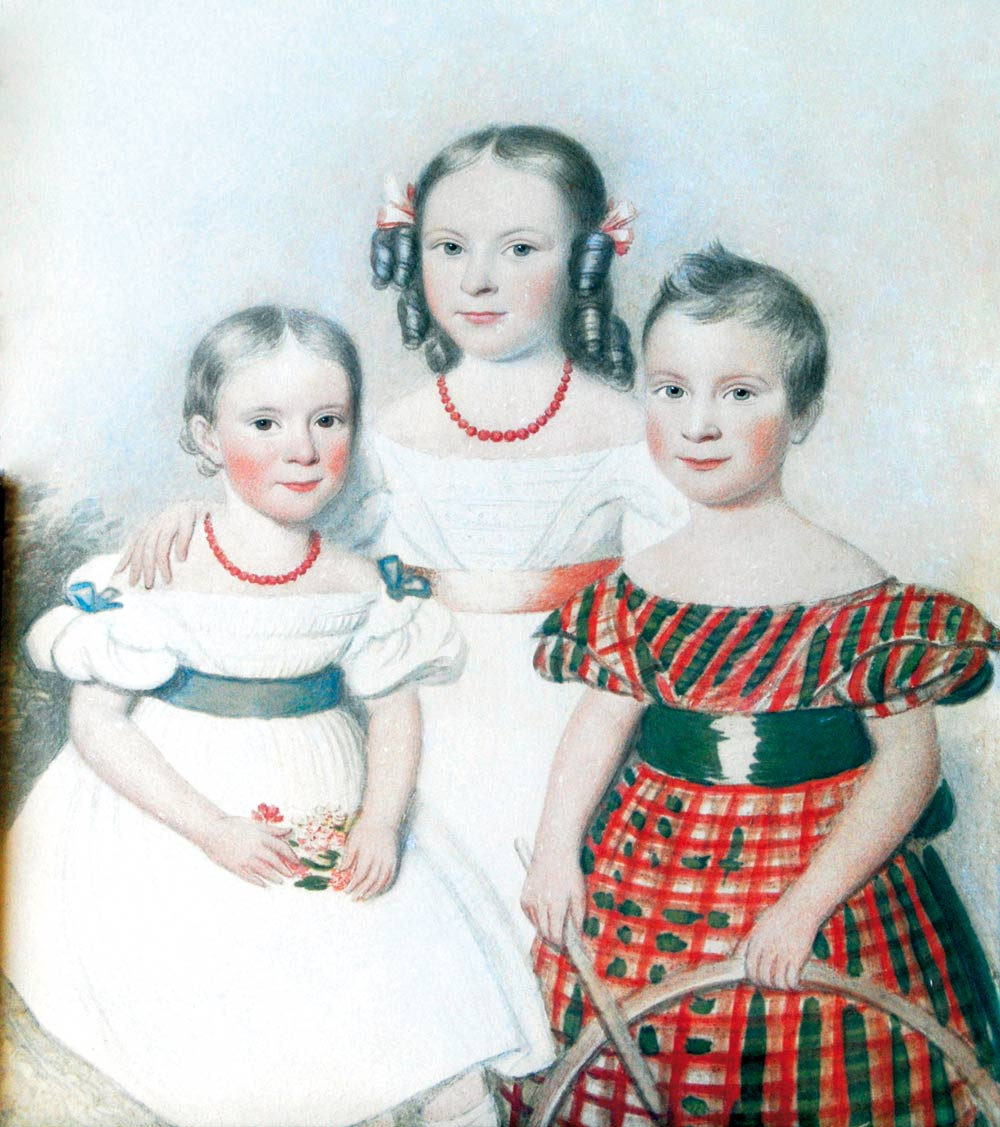Cozens grandchildren 1837