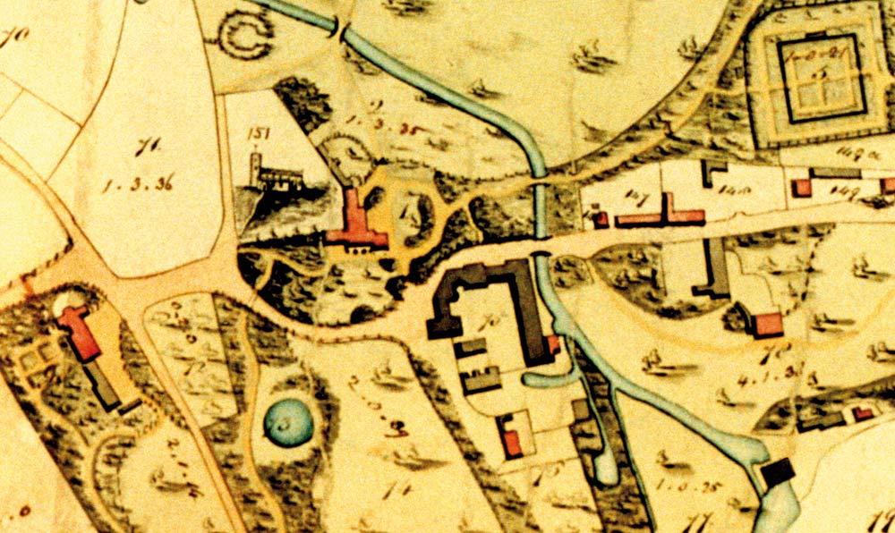 Letheringsett in 1834 by Josiah Manning