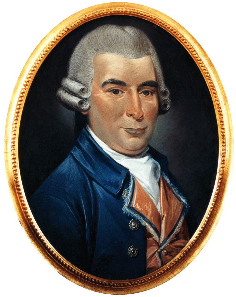 William Hardy in 1785 by Huquier