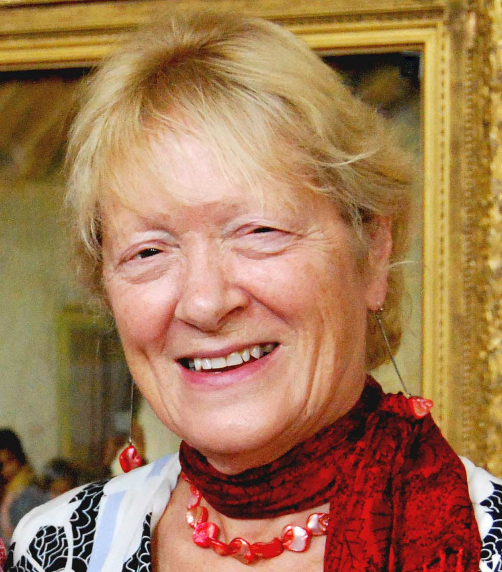 Professor Penelope J. Corfield in 2013